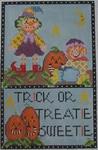 440B 4.5 x 7.5  NeedleDeeva 18 Mesh Trick or Treatie Sweetie