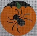 435H NeedleDeeva 2.66 x 2.66 18 Mesh Spider Pumpkinface
