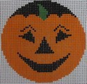 435B NeedleDeeva 2.66 x 2.66 18 Mesh Smiley Pumpkinface