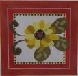 661A NeedleDeeva 6x6 18 Mesh Red Flower
