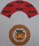 471H NeedleDeeva 18 Mesh Devil Pumpkin Cupcake