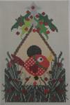 562A NeedleDeeva 4.5 x 6.75 18 Mesh Winter Birdhouse