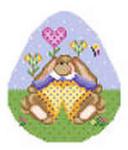 602D NeedleDeeva 3.8 x 4.5 18 Mesh Essie Bunny