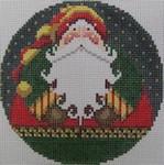 1363A NeedleDeeva 4.25 x 4.25 18 Mesh Santa