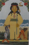 561D NeedleDeeva 3.17x5 18 Mesh Chief Wampanoag