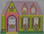 606A NeedleDeeva 9 x 7.5 18 Mesh The Basket Factory House