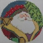 1363G NeedleDeeva 4.25 x 4.25 18 Mesh Santa and the Bear