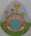602A NeedleDeeva 3.8 x 4.5 18 Mesh Doreen Bunny