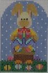 603A NeedleDeeva A 2x3 18 Mesh Barnaby Bunny