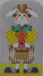608SG NeedleDeeva 5.25 x 9.5 18 Mesh Rhett O'Hare With Debbie Bowers Stitch Guide