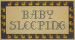 1017D NeedleDeeva 6.5 x 3.5 18 Mesh Baby Sleeping w/ Duck Border