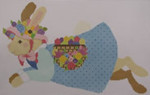 612 NeedleDeeva 10.5 x 7 18 Mesh Girl Bunny