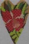 722E NeedleDeeva 2.8 x 3.5 18 Mesh Orchid Heart