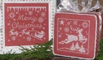 08-2462 WM-0132 Merry Christmas: One Color Wonders by Waxing Moon Designs
