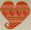 721E NeedleDeeva 2.75 x 2.75 18 Mesh Valentines