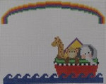 1012  NeedleDeeva 5x4 18 Mesh Noah's Ark Mini Sampler
