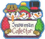 1348B NeedleDeeva 4 x 4.75 18 Mesh Snowman Collector