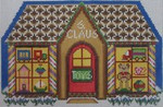 1353 NeedleDeeva 7.5 x 5 18 Mesh Santa's Toy Shop
