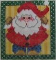 1311 NeedleDeeva 3x3 18 Mesh Thrift Shop Santa