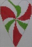 1343G NeedleDeeva 3.5 x 2.67 18 Mesh Candy Heart
