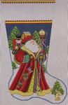 1356J NeedleDeeva 14x22 13 Mesh  Santa Delivers
