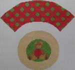 1378A NeedleDeeva 7x8 18 Mesh Teddy Bear Cupcake