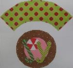 1378K  NeedleDeeva 7x8 18 Mesh  JOY Cupcake