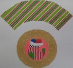 1378G NeedleDeeva 7x8 18 Mesh Christmas Stocking Cupcake