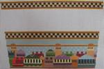 1381B NeedleDeeva 11.5 x 7.4 13 Mesh Old Jerusalem Stocking Cuff