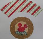 1378H NeedleDeeva 7x8 18 Mesh Cardinal Cupcake