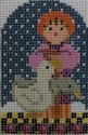 1350P NeedleDeeva 1.75 x 2.5 18 Mesh Shepherd and the Geese