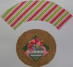 1378I NeedleDeeva 7x8 18 Mesh Golden Ornament Cupcake