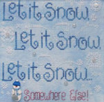Moon-Lite: Let It Snow Somewhere Else! Waxing Moon Designs YT