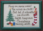 13-2516 Keep Christmas Merry 96h x 147w Waxing Moon Designs YT