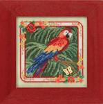 MH144101 Mill Hill Buttons and Bead Kit Parrot (2014)