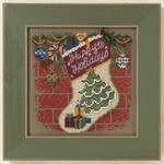 MH141305 Mill Hill Buttons and Bead Kit Holiday Stocking (2011)