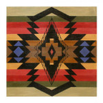 Elements Designs DH3668 - Diamond Banded Trade Blanket