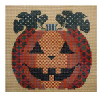 Cricket Collection by Vicki Hastings VH3611 - Patterned Pumpkin