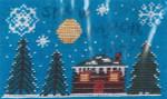 14-1231 Snow Moon 49w x 80h by Misty Hill Studio