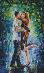 14-1141 Rainy Kiss (XS & Needlepoint) by Paula's Patterns 160 x 247