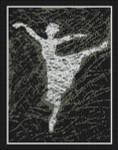14-1142 Matrix Ballerina I by Paula's Patterns 150 x 192
