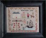 14-1379 Eliza Poole Sampler 215w x 177h Stacy Nash Primitives