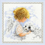 RL1360 Riolis Cross Stitch Kit Day of an Angel