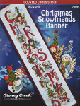 10-2594 Christmas Snowfriends Banner 80 x 453 Stoney Creek Collection