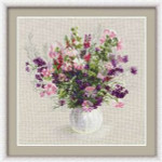RL1010 Riolis Cross Stitch Kit Summer Bouquet