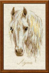 RL827 Riolis Cross Stitch Kit Moon Horse