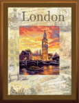 RLPT0019 Riolis Cross Stitch Kit Cities of the World - London