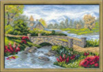 RL1078 Riolis Cross Stitch Kit Summer View