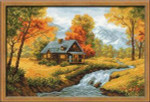 RL1079 Riolis Cross Stitch Kit Autumn View