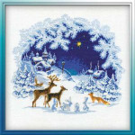 RL793 Riolis Cross Stitch Kit Christmas